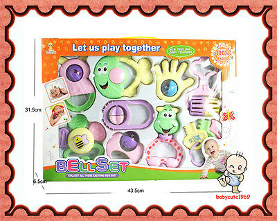 Brand New Baby toys Bell Set 9 Pieces