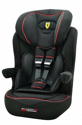 FERRARI Baby car seat I-Max GT - GROUP 1/2/3  9-36 KG MODEL 2017 MADE IN FRANCE