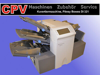 Kuvertiermaschine Pitney Bowes DI 321/ 350 (bis 2.500 Takte/h)