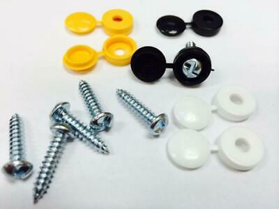 Cherished Registration Anti Tamper Security Number Plate Screws Replacement Set