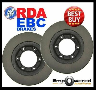 Holden Rodeo TF R9 V6 2WD/4WD 280mm 1998-2002 FRONT DISC BRAKE ROTORS - RDA840
