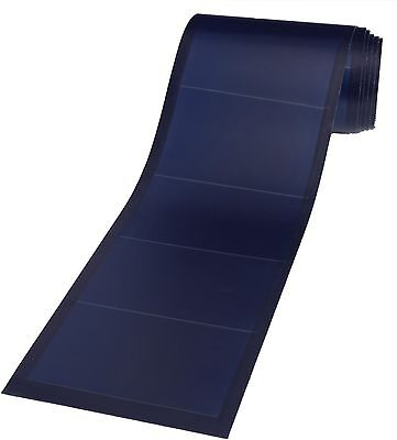 UniSolar PVL-128 24v Amorphous Solar Laminates with peel-n-stick adhesive back.
