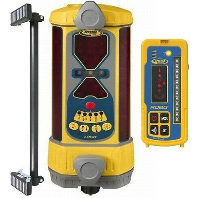 Spectra LR50W Machine Control Laser Detector with RD20 Wireless Remote Display