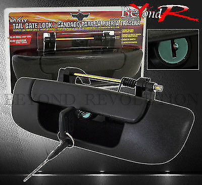 02-08 Dodge Ram 1500 Rear Lift Tail Gate Security Locking Assembly Bezel Handle