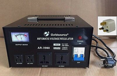 Voltage Converter Transformer Step Up/down 3000W Regulator 230 To 110V &110-230V
