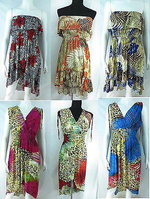 US SELLER-lot of 4 dresses Fashion Clothing Wholesale long and short dress