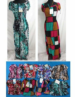 US SELLER-LOT OF 4 dress for the beach SUMMER DRESSES LONG DRESS WHOLESALE