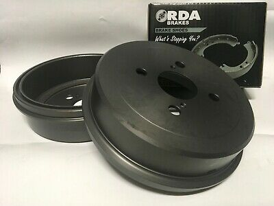 RDA Rear Brake Drums & Brake Shoes suits Hyundai Getz 2002-2005