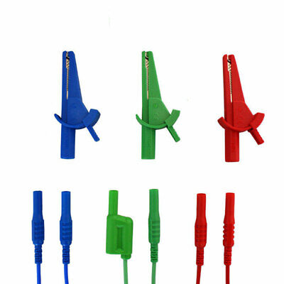 LDM201 Unfused Red Blue Green Test Leads for Martindale Multifunction Testers for sale online