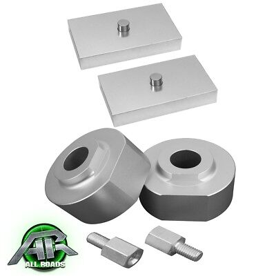 """AR 1999-2015 Ford F250 F350 2WD ONLY Full Lift Leveling Kit: Front 2"""" Rear 1"""""""