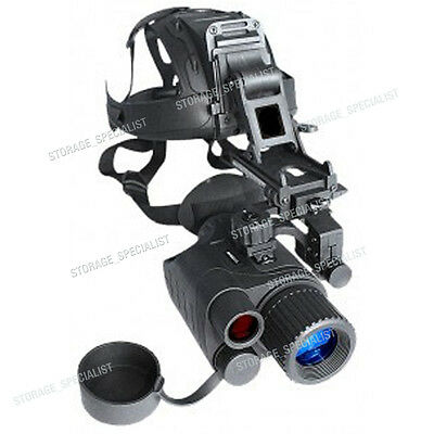 Master Night Vision Goggle Head Mount Kit Monocular Security IR Tracker Gen