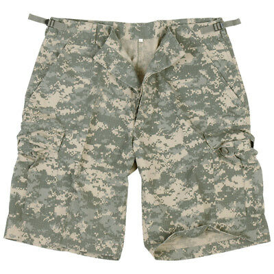 Ripstop Us Army Combat Cargo Military Mens Shorts Acu Digital Camo : S-Xxl