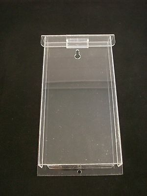 """Real Estate 4""""x9"""" Outdoor Brochure Holder Tri-Fold Clear Display Lot of 6 AZM"""