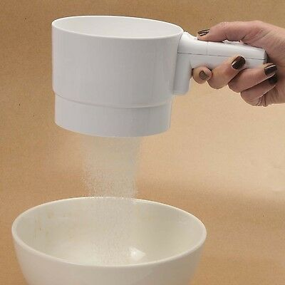 Norpro 140 Battery Operated Flour Sifter 5 Cup