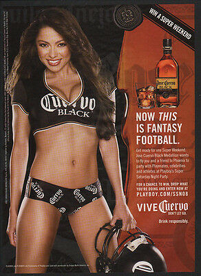 2007 JOSE CUERVO BLACK Tequila - Sexy Woman - Now This is Fantasy Football AD