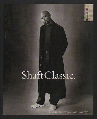 2000 REEBOK SHAFT CLASSIC Sneakers - Shoes - SAMUEL L. JACKSON - VINTAGE AD
