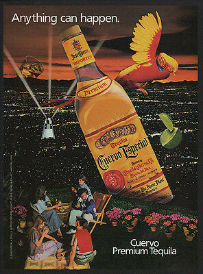 1983 CUERVO Premium Tequila - Anything can Happen - VINTAGE AD