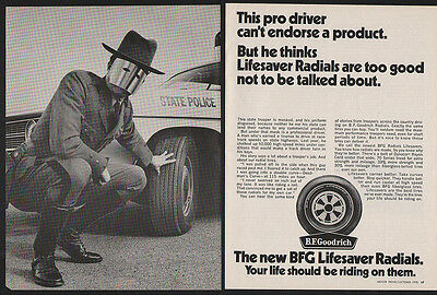 1970 B.F. GOODRICH Tires - 2 Page VINTAGE AD