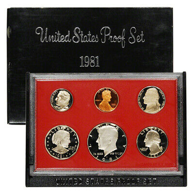 1981-S US Mint Proof Set