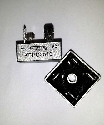 Bridge Rectifier 1ph 35A 1000V 35 Amp Metal Case - 1000 volt 35A Diode 2pcs