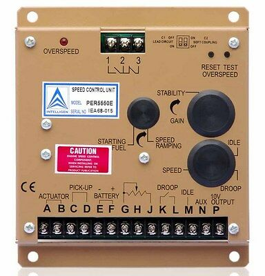 ELECTRONIC ENGINE SPEED Controller Governor 5550E Generator