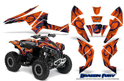 Can-Am Renegade Graphics Kit by CreatorX Decals Stickers DFBLO
