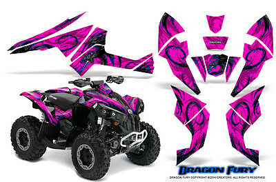 Can-Am Renegade Graphics Kit by CreatorX Decals Stickers DFBLP