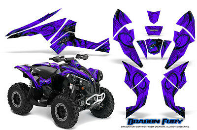 Can-Am Renegade Graphics Kit by CreatorX Decals Stickers DFBLPR