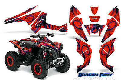 Can-Am Renegade Graphics Kit by CreatorX Decals Stickers DFBLR