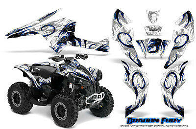 Can-Am Renegade Graphics Kit by CreatorX Decals Stickers DFBLW