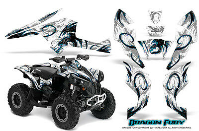 Can-Am Renegade Graphics Kit by CreatorX Decals Stickers DFBLIW