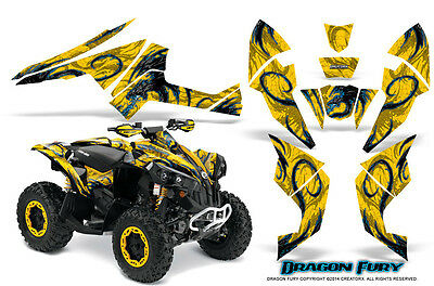 Can-Am Renegade Graphics Kit by CreatorX Decals Stickers DFBLIY