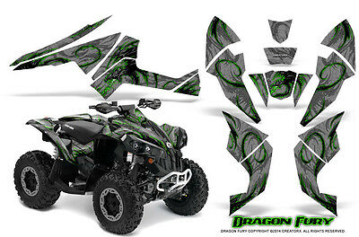 Can-Am Renegade Graphics Kit by CreatorX Decals Stickers DFGS