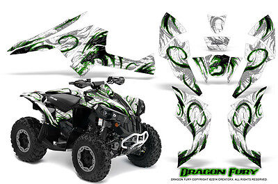 Can-Am Renegade Graphics Kit by CreatorX Decals Stickers DFGW