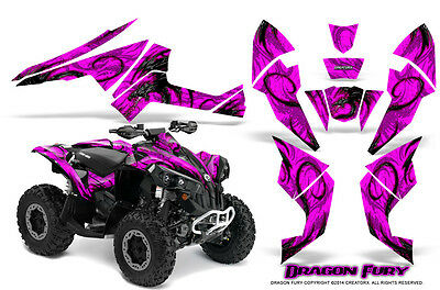 Can-Am Renegade Graphics Kit by CreatorX Decals Stickers DFPP