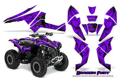 Can-Am Renegade Graphics Kit by CreatorX Decals Stickers DFPRPR
