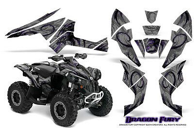 Can-Am Renegade Graphics Kit by CreatorX Decals Stickers DFPRS