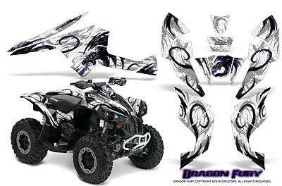 Can-Am Renegade Graphics Kit by CreatorX Decals Stickers DFPRW