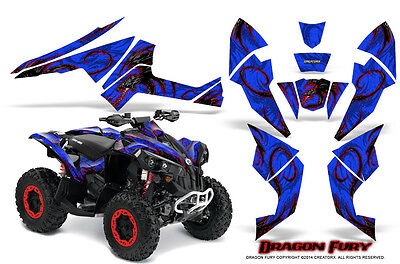 Can-Am Renegade Graphics Kit by CreatorX Decals Stickers DFRBL