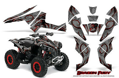 Can-Am Renegade Graphics Kit by CreatorX Decals Stickers DFRS
