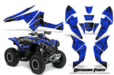 Can-Am Renegade Graphics Kit by CreatorX Decals Stickers DFSBL