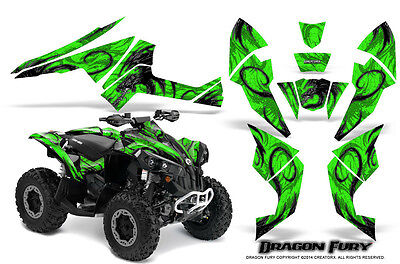 Can-Am Renegade Graphics Kit by CreatorX Decals Stickers DFSG