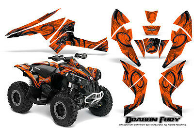 Can-Am Renegade Graphics Kit by CreatorX Decals Stickers DFSO