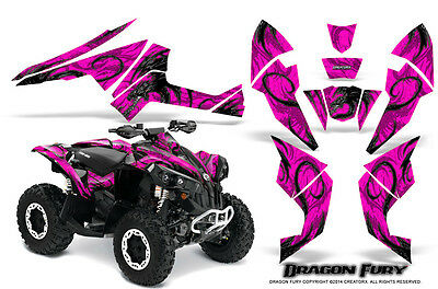 Can-Am Renegade Graphics Kit by CreatorX Decals Stickers DFSP