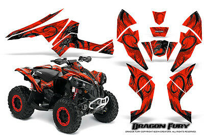 Can-Am Renegade Graphics Kit by CreatorX Decals Stickers DFSR