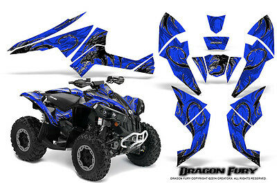 Can-Am Renegade Graphics Kit by CreatorX Decals Stickers DFWBL