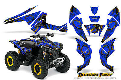 Can-Am Renegade Graphics Kit by CreatorX Decals Stickers DFYBL