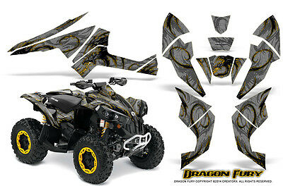 Can-Am Renegade Graphics Kit by CreatorX Decals Stickers DFYS