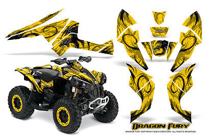 Can-Am Renegade Graphics Kit by CreatorX Decals Stickers DFYY