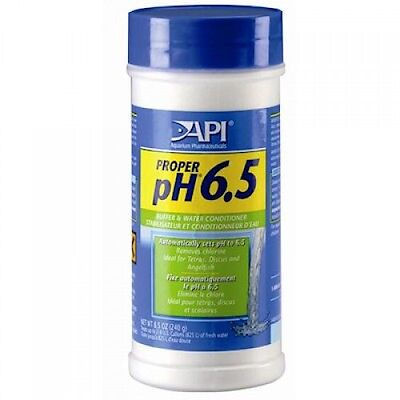 API PROPER PH 6.5 - BUFFER & WATER CONDIONER 240g - AUTOMATICLY SET PH TO 6.5